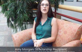 Amy Morgan Scholarship Recipient